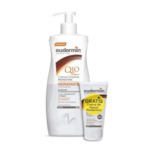 eudermin crema corporal protectora hidratante 400ml+crema de manos 30ml gratis