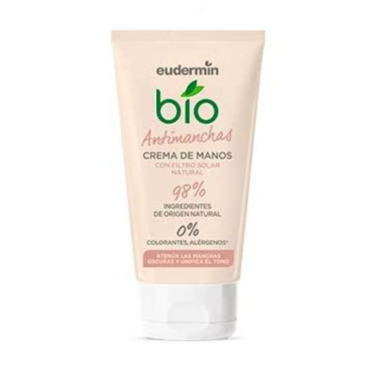 eudermin bio crema de manos antimanchas 75ml