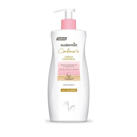 eudermin calma´s crema corporal dosificador 400ml