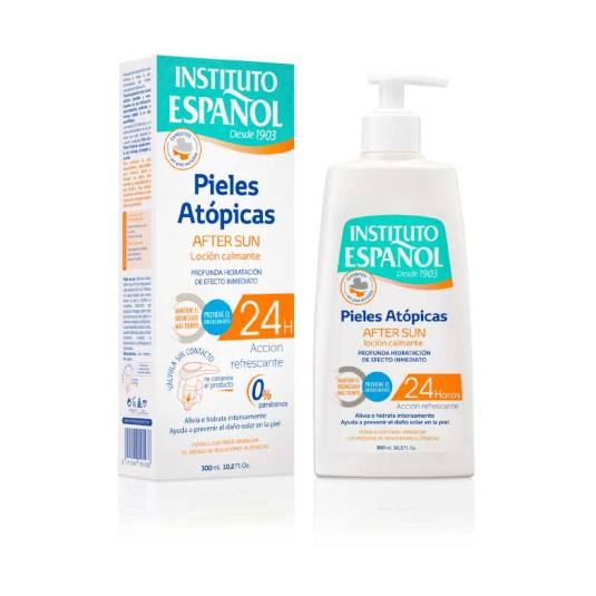 instituto español after-sun pieles atopicas 300ml