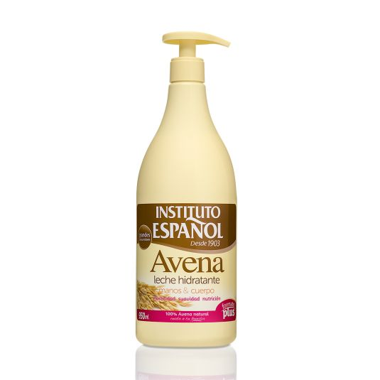 instituto español body milk avena 950ml