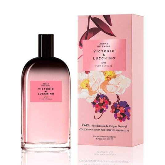 victorio & lucchino aguas intensas nº17 flor sensual mujer 150ml