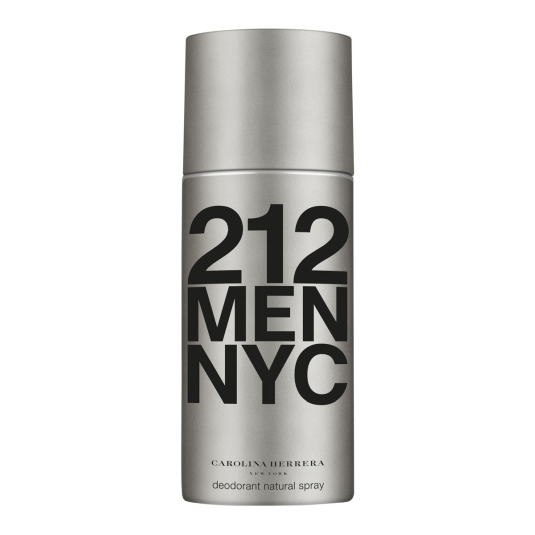 carolina herrera 212 men desodorante 150ml