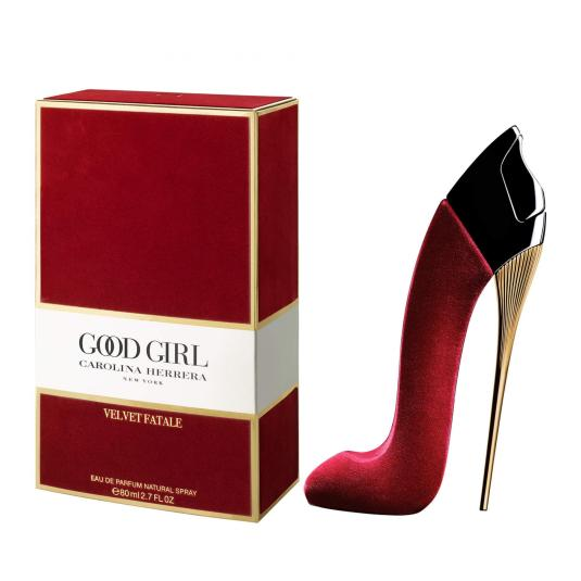 carolina herrera ch good girl velvet fatale eau de parfum 80ml