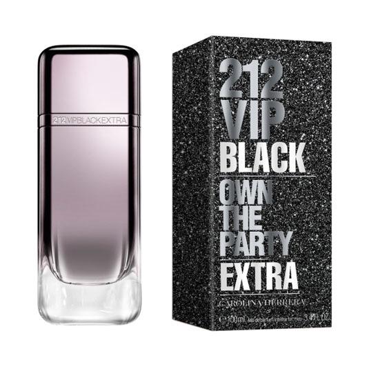 carolina herrera 212 vip black extra eau de parfum 100ml