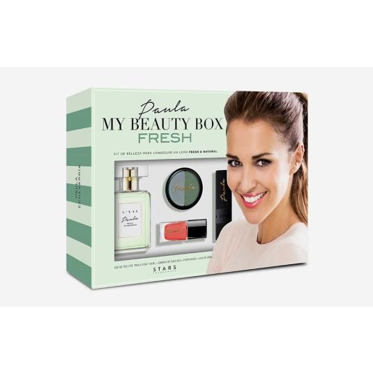 paula my beauty box fresh estuche maquillaje/fragancia