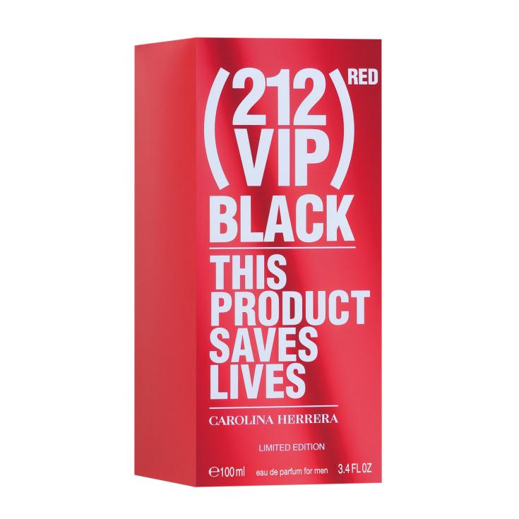 carolina herrera ch 212 vip black red eau de parfum 100ml ed. limitada