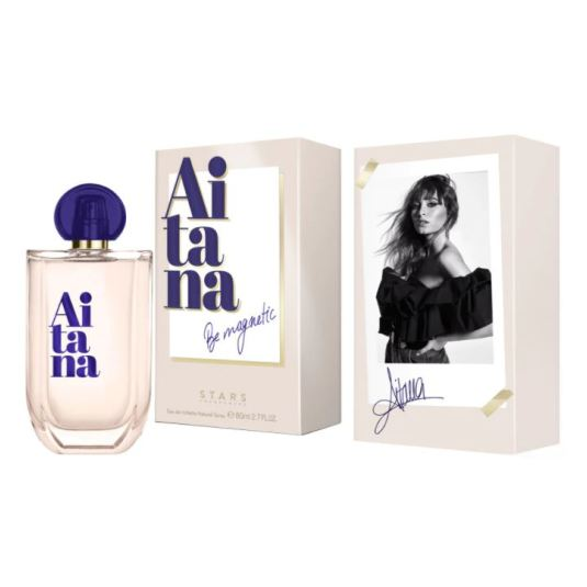 aitana be magnetic eau de toilette 80ml