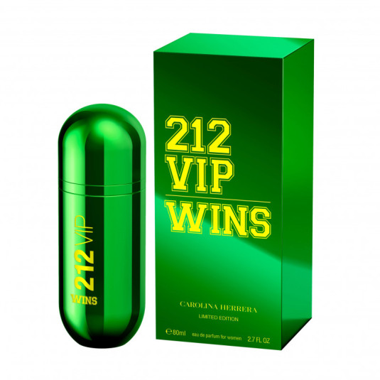 ch 212 vip rose wins 80ml eau de parfum   limited edition