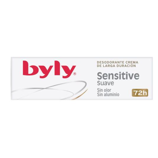 billy sensitive desodorante crema larga duracion 72h 25ml