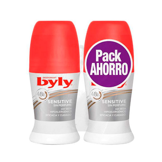 billy sensitive desodorante roll-on duplo 2x50ml pack ahorro