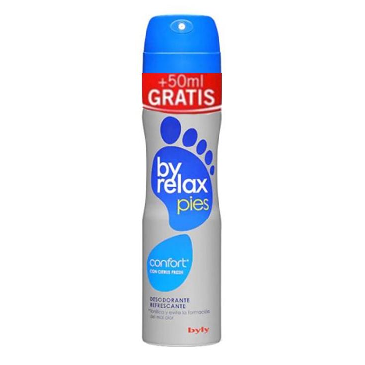 byly byrelax desodorante pies spray 200+50ml