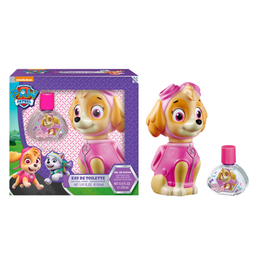 PAW PATROL SKYE FIGURA 3D SET COLONIA 30 ML + GEL 250 ML