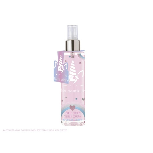 eau my unicorn colonia corporal con purpurina 200ml