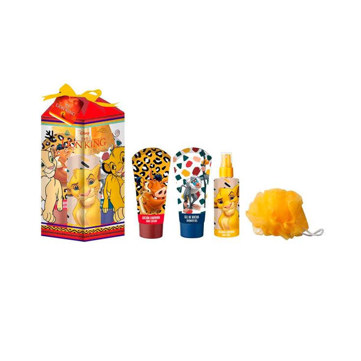 agua de cololia el rey leon set regalo infantil 4 piezas