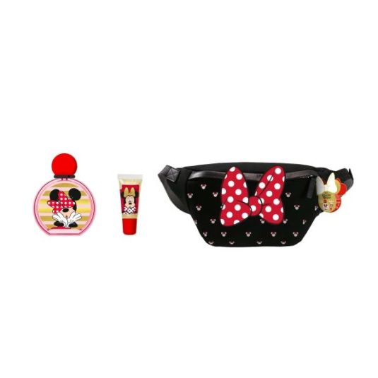 minnie colonia 50ml estuche con riñonera