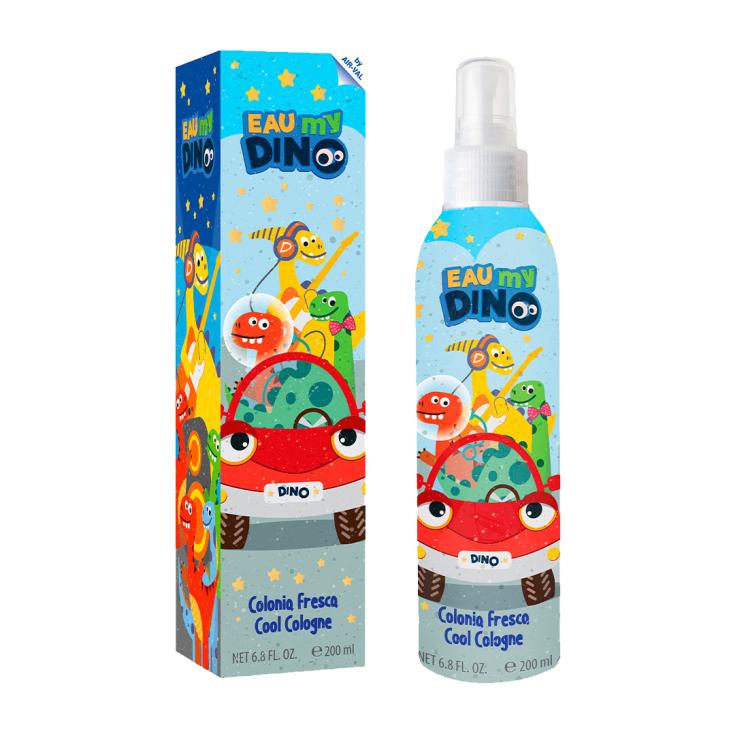 eau my dino colonia fresca para niños spray 200ml
