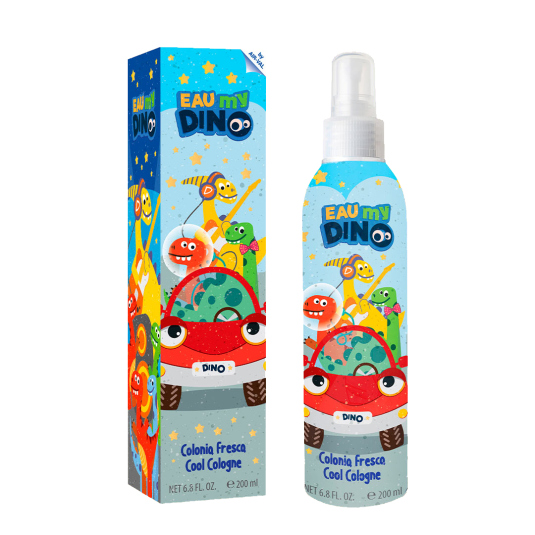 eau my dino colonia fresca para niños spray 200ml