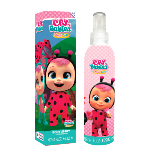 cry babies magic tears colonia fresca corporal infantil 200ml