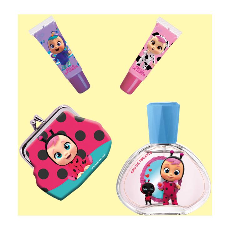 cry babies magic tears estuche regalo colonia infantil 4 piezas