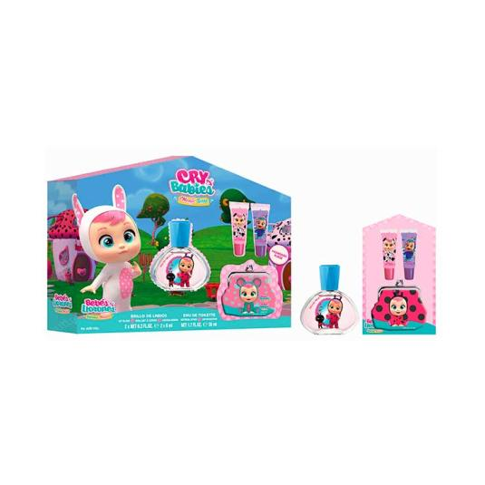 cry babies magic tears estuche regalo colonia infantil 4 piezas