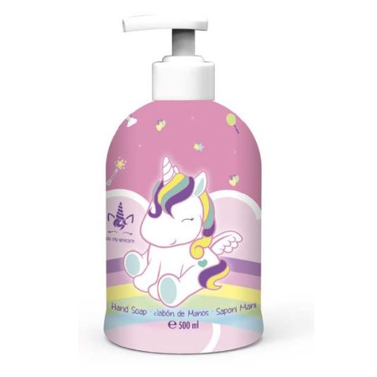 eau my unicorn jabon de manos infantil dosificador 500ml
