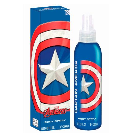 advengers capitan america body spray infantil 200ml