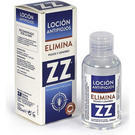 zz locion capilar antipiojos 100ml