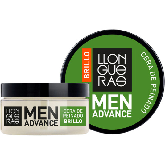 llongueras men advanced cera de peinado brillo 85ml