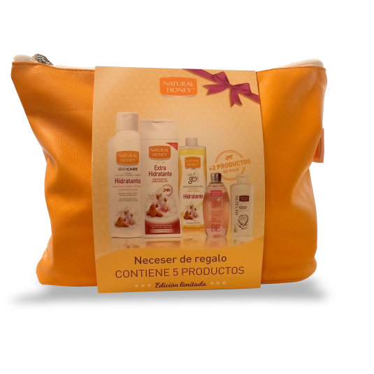 natural honey set hidratante neceser regalo de 5 productos
