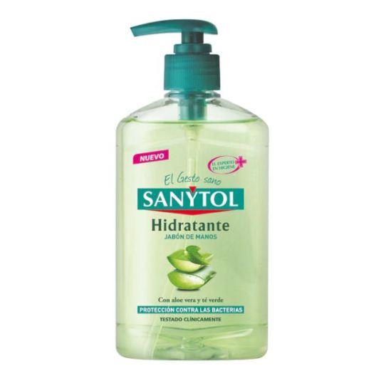 sanytol jabon manos hidratante 250ml
