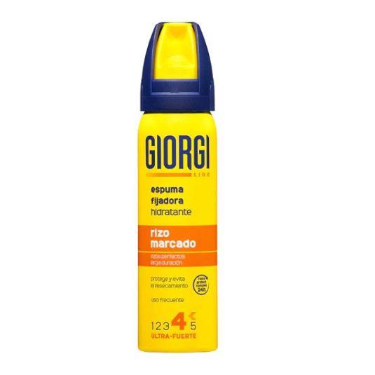 giorgi espuma fijadora rizo marcado ultra fuerte 100ml