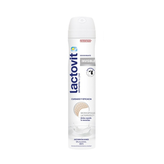 lactovit desodorante spray invisible 200ml