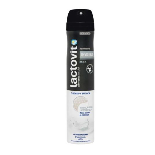 lactovit desodorante invisible men spray 200ml
