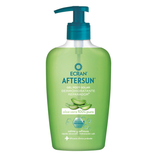 ecran aftersun gel post-solar aloe vera 100% puro 200ml