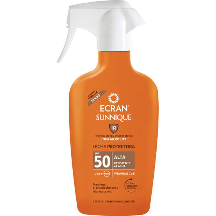 ecran sunnique leche protectora corporal spray protección alta