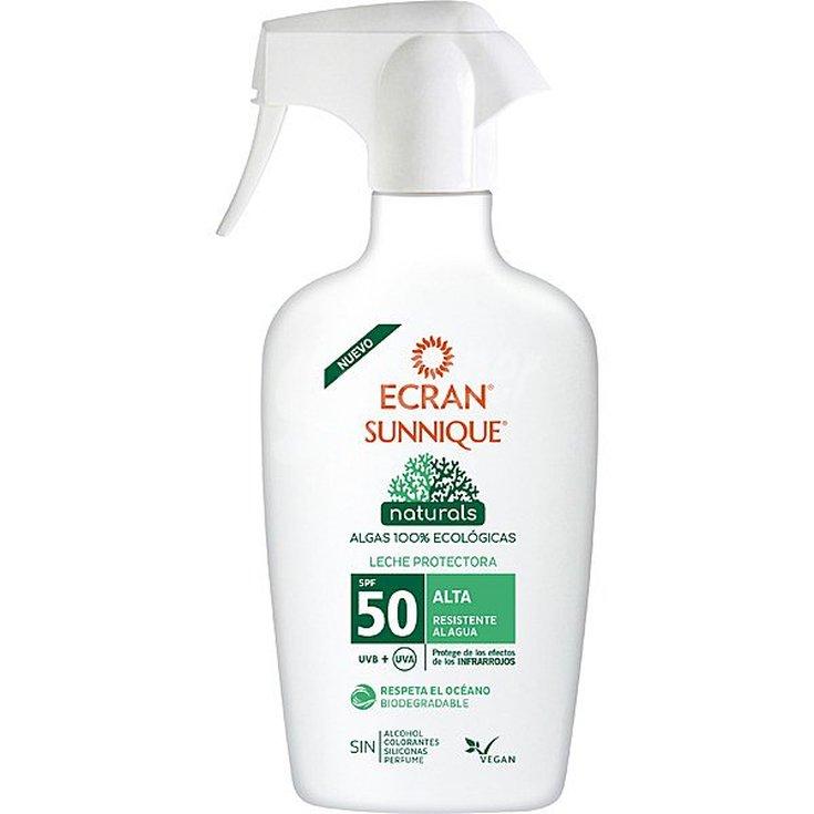 sunnique naturals leche protectora spf50 100% ecológicas 300ml