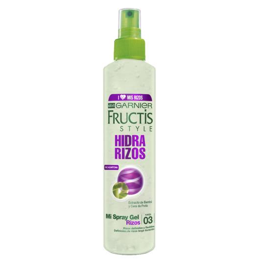 fructis style agua de peinado rizado 150ml