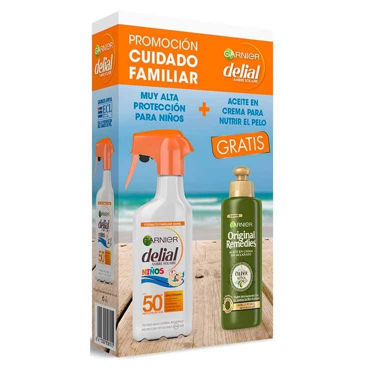 delial sensitive advanced solar 300ml + aceite capilar or. remedies regalo
