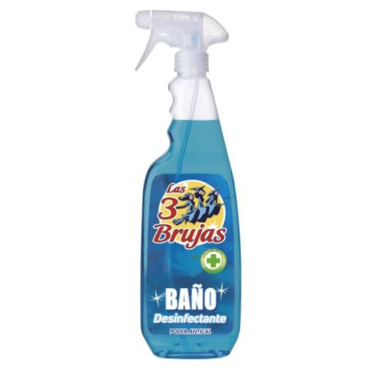las 3 brujas baño desinfectante antical pistola 750ml