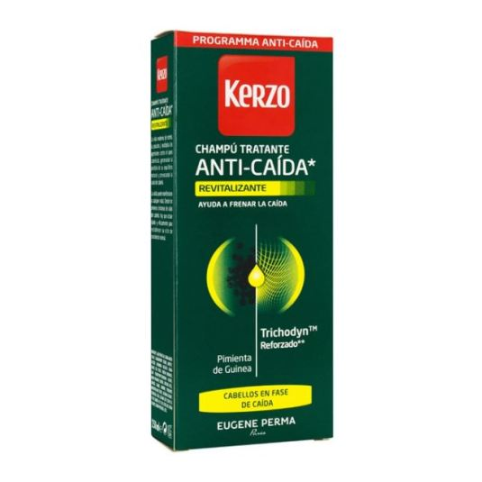kerzo champu anticaida para hombre revitalizante 250ml