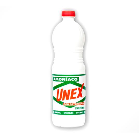 unex amoniaco con detergente 1,5 litros