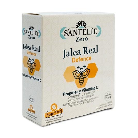 santelle jalea real defence propoleo y vitamina c 10 viales