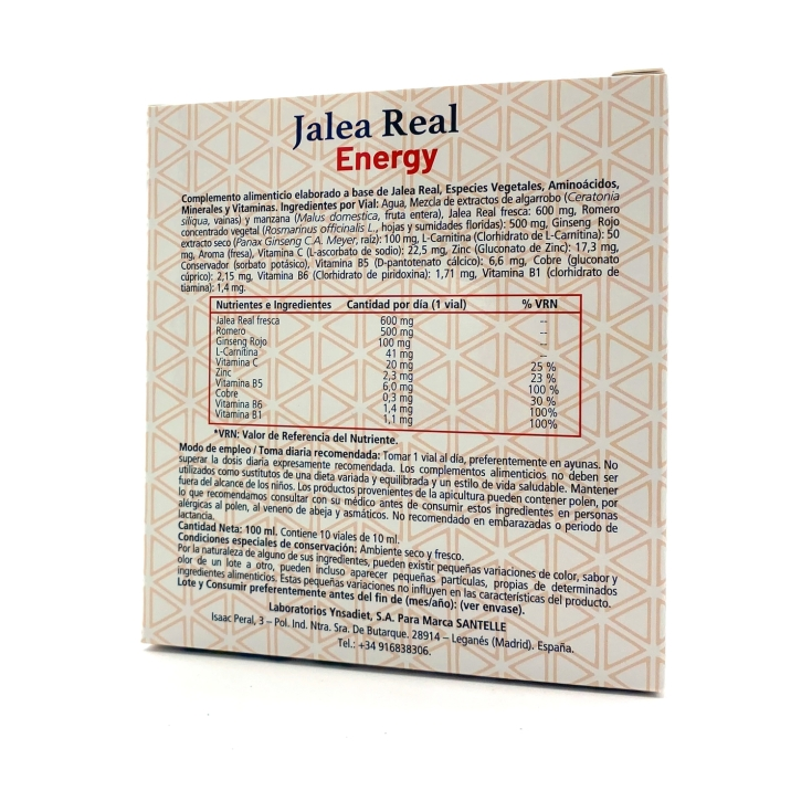 santelle jalea real ginseng energy 10 viales