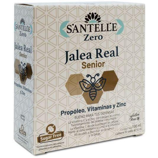 santelle jalea real senior propoleo zinc 10 viales