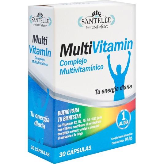 santelle complejo multivitaminico 30 capsulas
