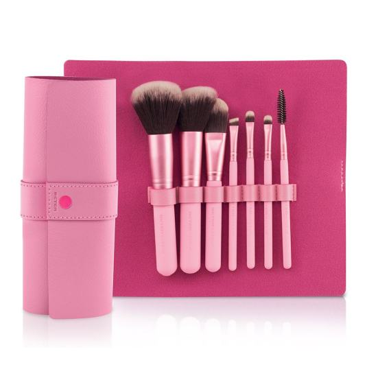better kit brochas maquillaje pixie rose collection
