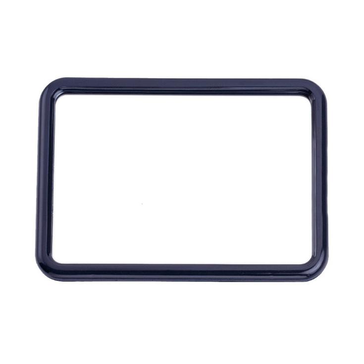 espejo cuadrado reforzado con soporte 14x19cm