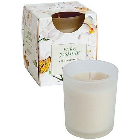 roura vela vela en vaso jasmine