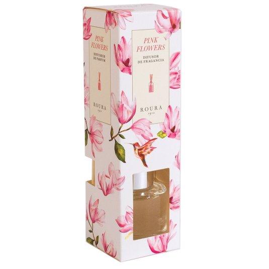 ROURA DIFUSOR PERFUME PINK FLOWERS 50 ML.